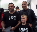 Sensei & Sempai Josh with Royce Gracie